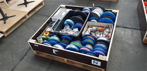Bulk Lot of Various Sizes of Electrical