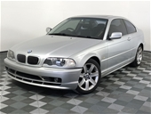 Unreserved 2002 BMW 3 25ci E46 Automatic