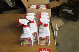 6 x spray bottles of Montys Plant Food.