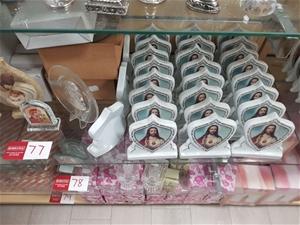 79 x Various Glass & Ceramic Religious i