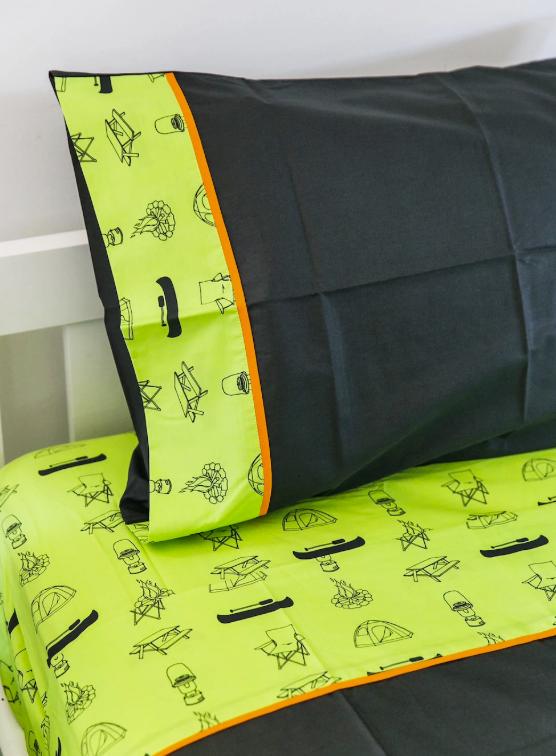 Camping Sheet Set - King Single Size