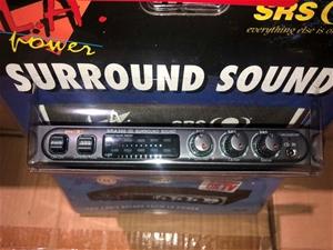 10 x 200W Power Amplifiers, Surround Sou