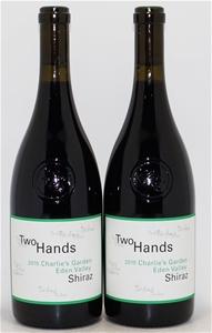 Two Hands `Charlie'S Garden` Shiraz 2015