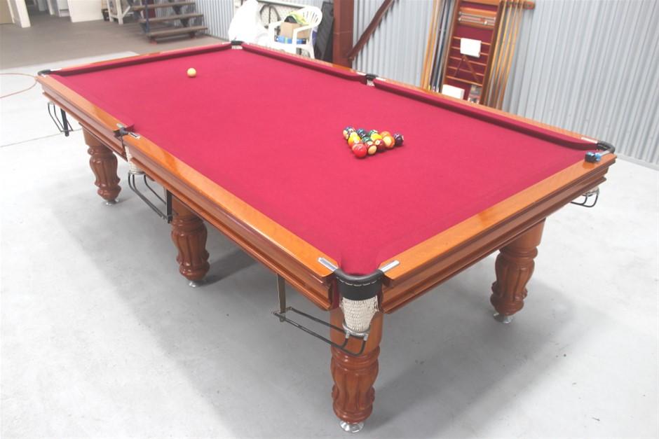 9ft x 4.5ft Italian Slate Tournament Size Pool Table