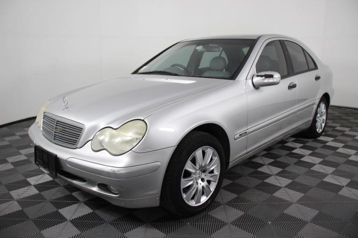 2002 Mercedes Benz C200 Kompressor Classic Sedan Auto