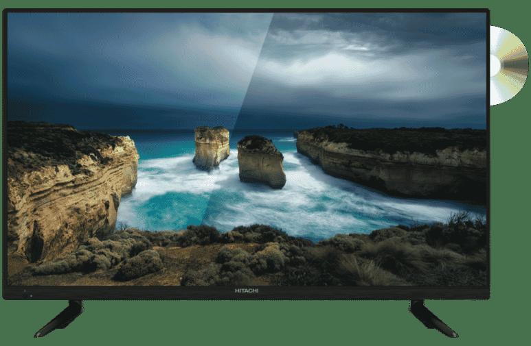 Hitachi 32-inch HD LED LCD TV DVD Combo