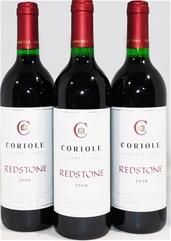 Coriole `Redstone` Red Blend 1998 (3x 750ml), McLaren Vale. cork