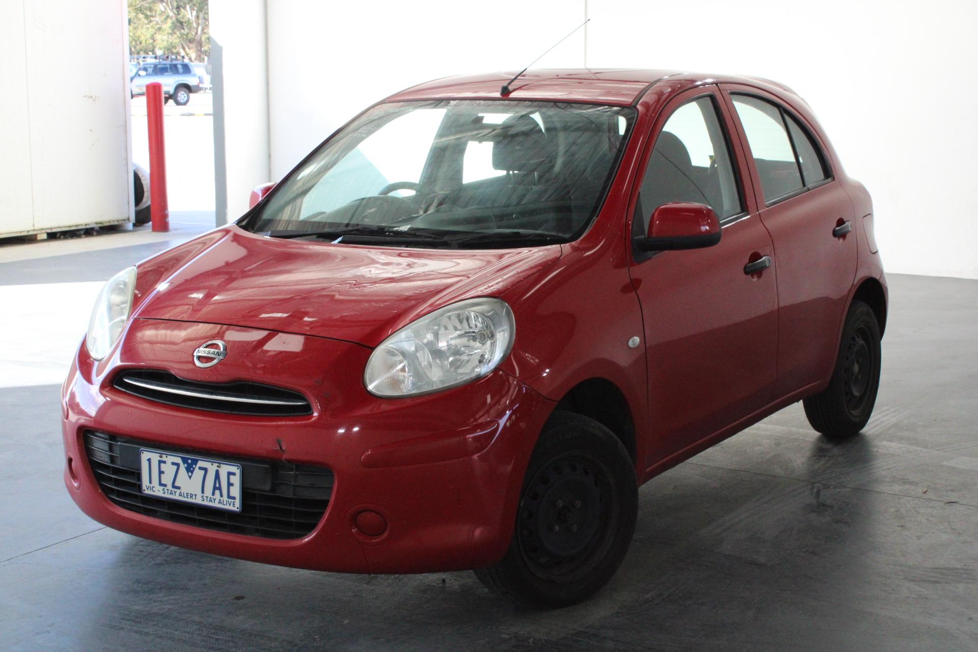2012 Nissan Micra ST K13 Automatic Hatchback