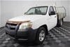 2007 Mazda BT-50 DX B2500 Turbo Diesel Manual Cab Chassis