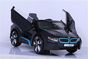 BMW I8 Electric Ride On Car - 12V - Blac