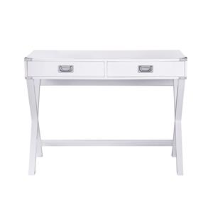Alexa Cross Leg 2 Drawer Stylish Desk -