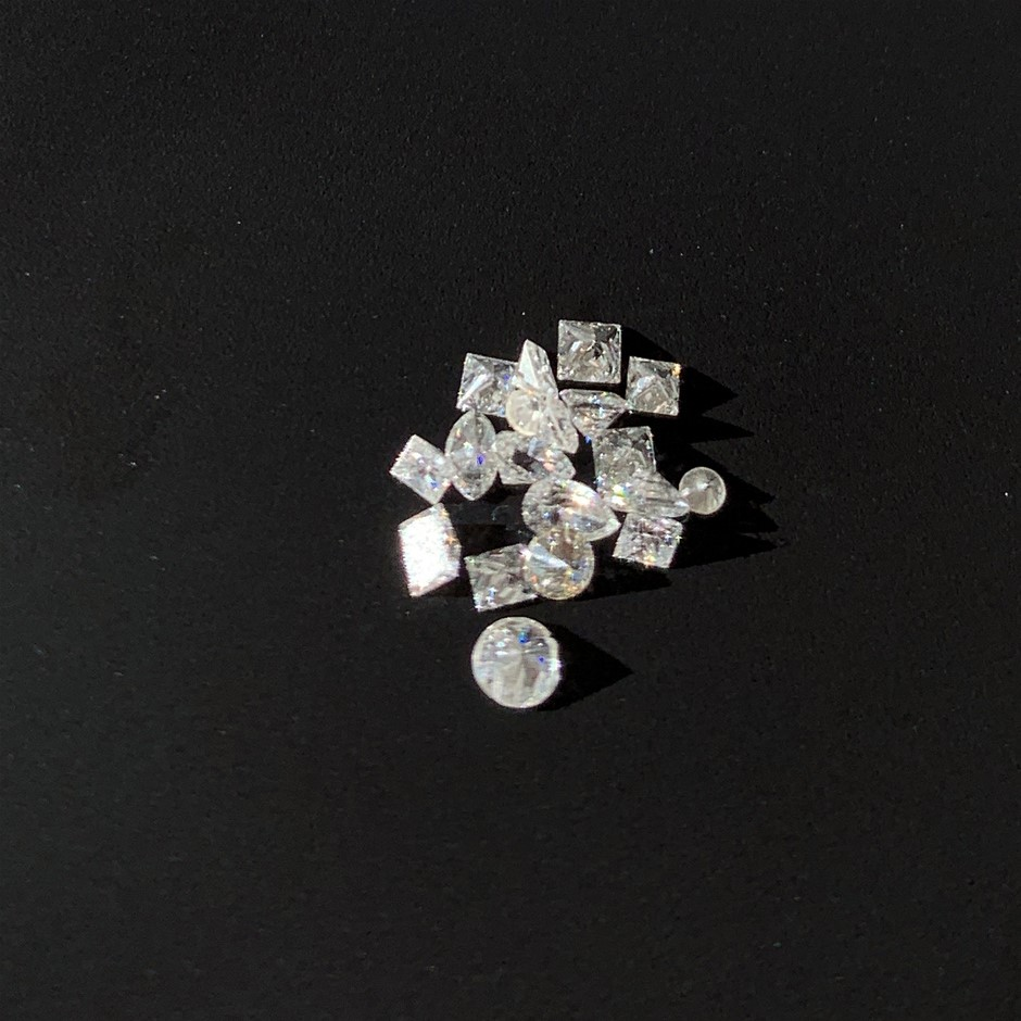 Nineteen Loose Diamond 0.26ct in Total