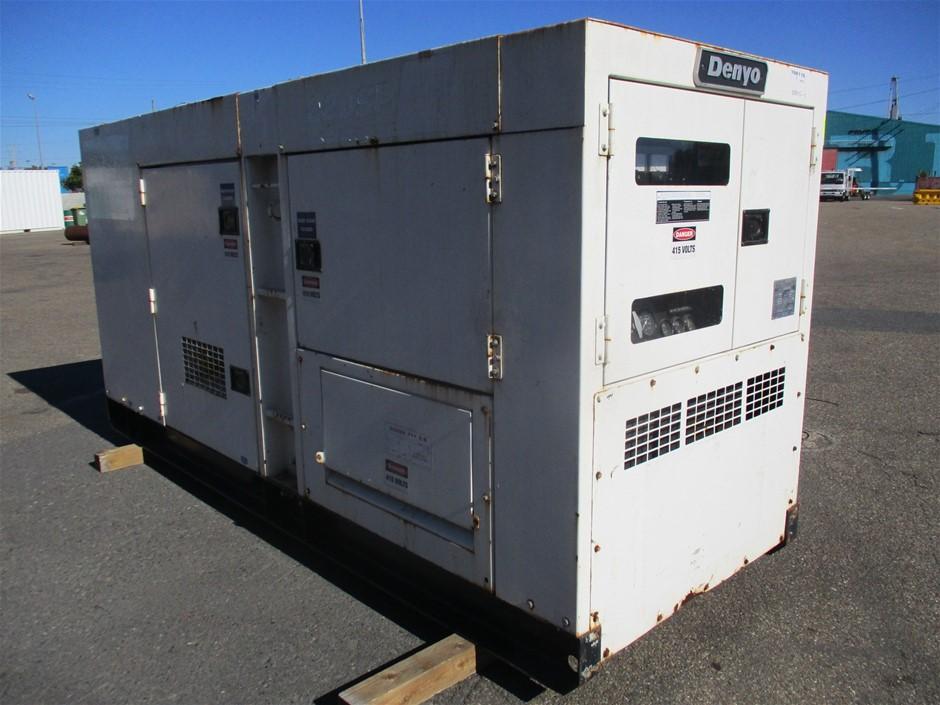 Denyo Power SP DCA-220-SPKII Generator