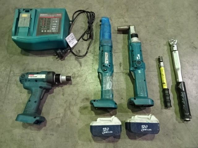 Qty 5 x Makita Assorted Torque Wrenches & Screw Gun (Pooraka, SA)