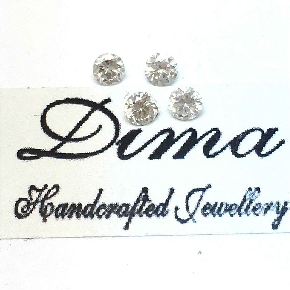 Four Stones Diamond 0.30ct in Total