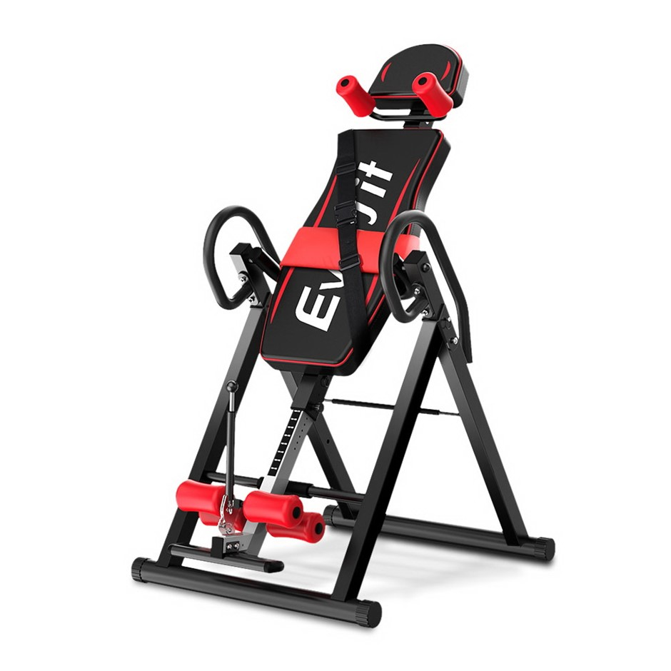 Everfit Inversion Table Gravity Stretcher Inverter Foldable Fitness Gym