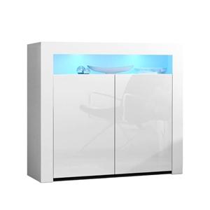 Artiss Buffet Sideboard Cabinet LED High