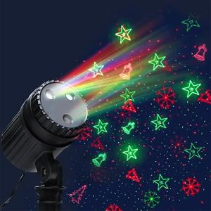 Jingle Jollys Moving LED Lights Laser Pr