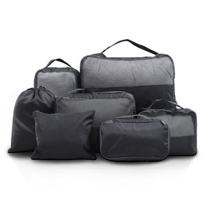Wanderlite 7PCS Dark Grey Packing Cubes