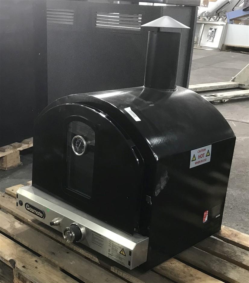 1 x Gasmate PO106 Vitreous Enamel Pizza Oven with Light
