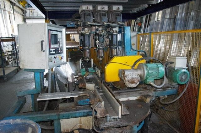 CNC Auto Drilling and Saw Cutting, FAGOR 8050 M