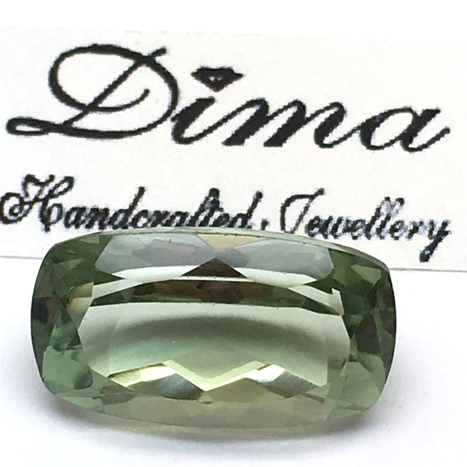 One Stone Green Amethyst 10.40ct in Total
