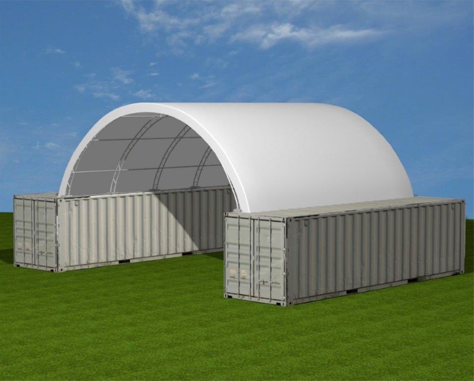 2019 Unused Extra Heavy Duty 40ft Container shelter
