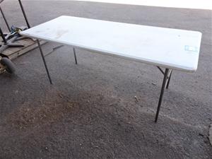 Table, Foldup Type, plastic fabrication,