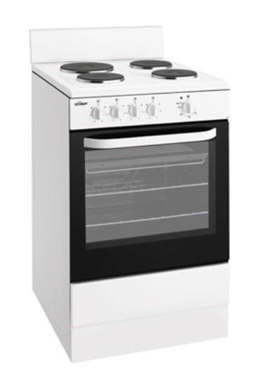 Chef CFE532WA 54cm Freestanding Electric Oven/Stove