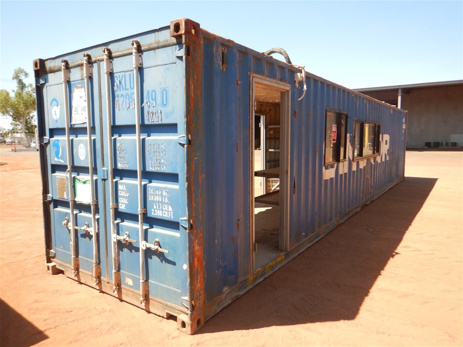 Workshop Container, Open Sides, 40 Foot, Standard (B-Type)