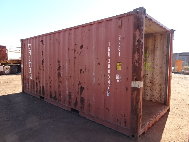Walkway/Shelter, Container, 20 Foot, Standard (B-Type)
