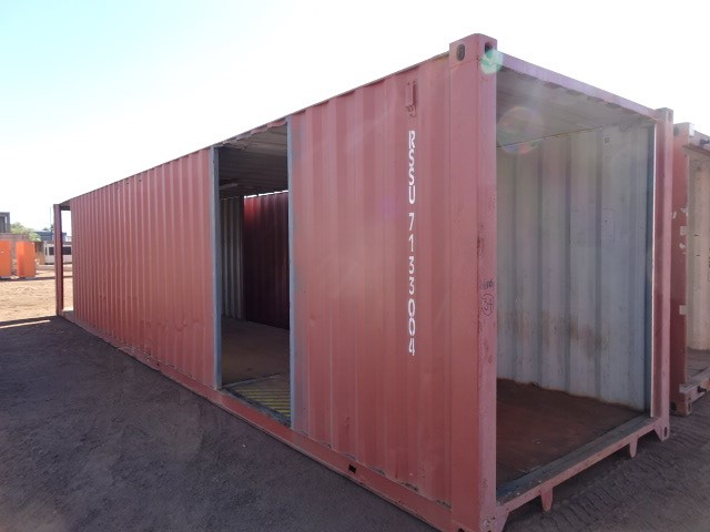 Walkway/Shelter, Container, 40 Foot, Standard, (B-Type)
