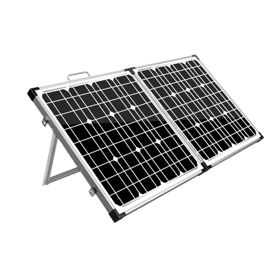 Solraiser 120W Folding Solar Panel Kit 12V Mono Charging Power USB