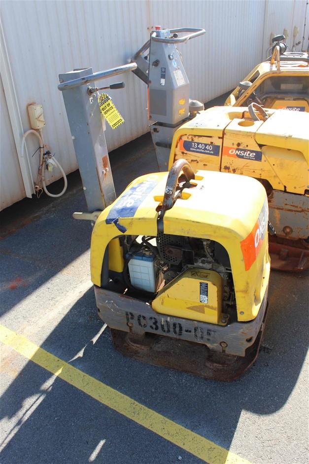 2012 Atlas Copco 265Kg Diesel Plate Compactor