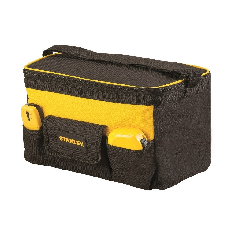 STANLEY 40cm Folding Tool Bag. 46cm x 27cm. Complete with 6 x Internal and