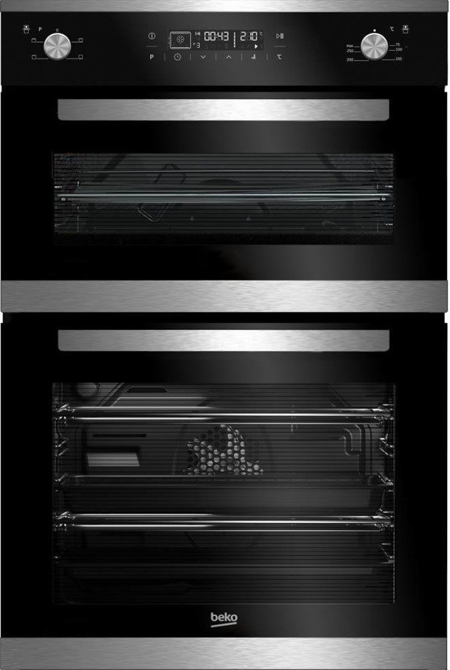 Beko BDM25400XM 60cm Electric Built-In Double Oven