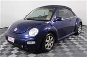 2005 Volkswagen Beetle Manual - 5 Speed Convertible