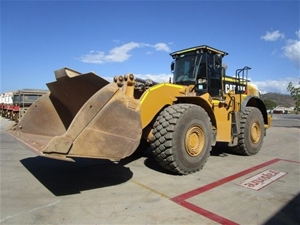 2015 Caterpillar 980K Wheel Loader