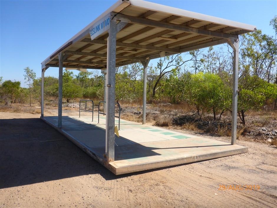 Large Open Span Shelter, Metal Fabrication
