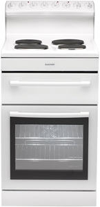 Euromaid 54cm Freestanding Cooker (White