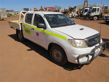 2011 Toyota Hilux 4x2 Dual Cab Utility