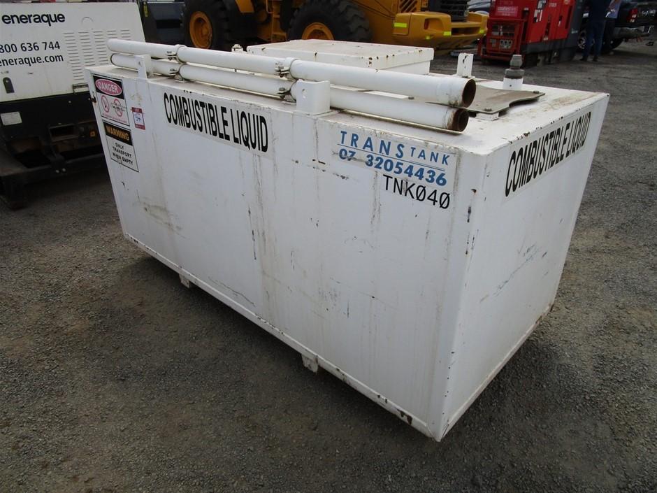 Trans Tank 2250L Steel Combustible Liquid Tank