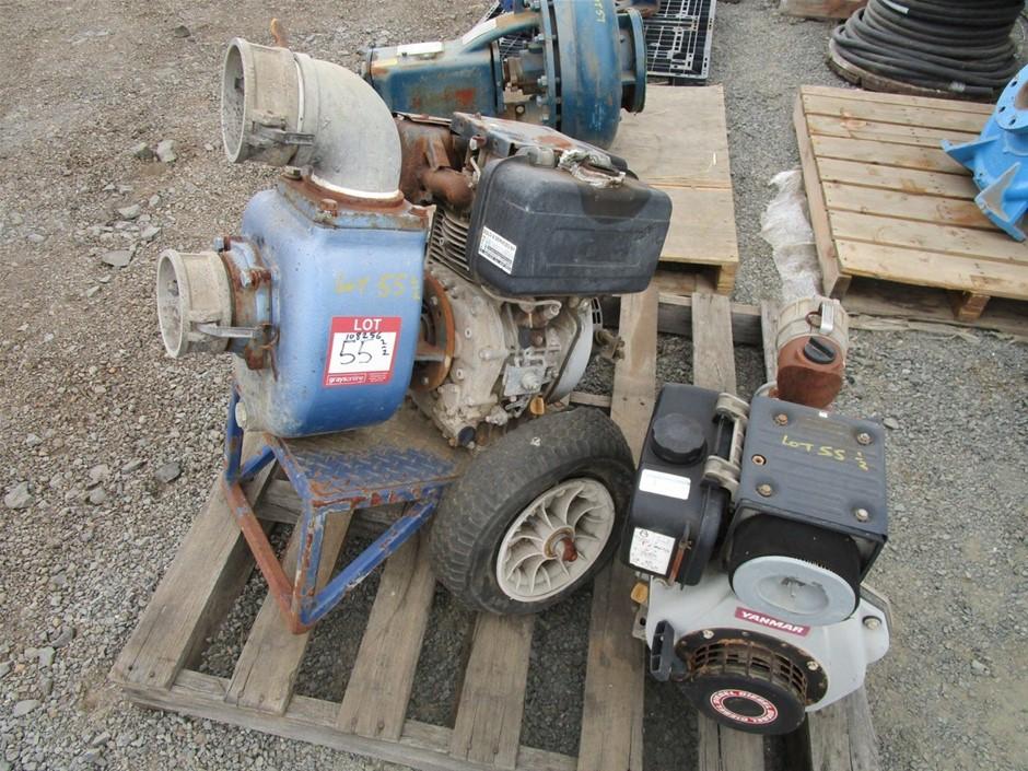 Qty 2 x Yanmar Pumps