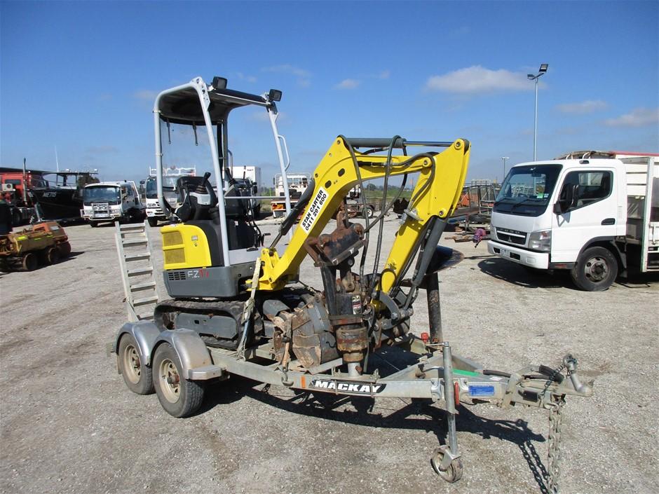 Wacker Neuson EZ17 Mini Excavator