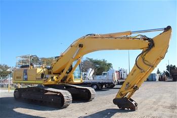 Komatsu PC300LC-8 Hydraulic Excavator