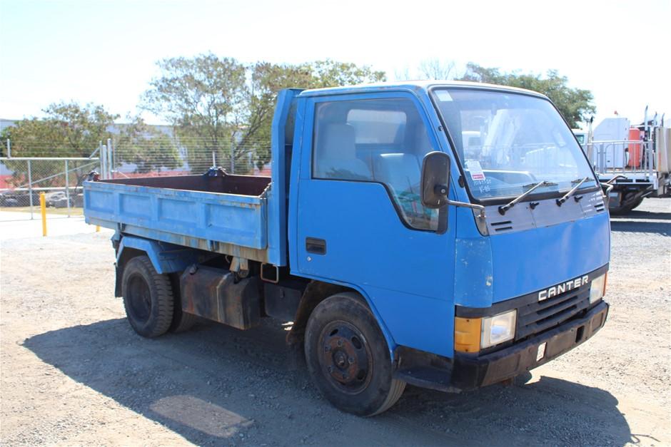 1987 Mitsubishi Canter Diesel Tipper Truck
