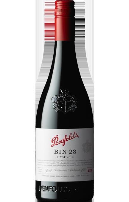 Penfolds Bin 23 Adelaide Hills Pinot Noir 2018 (6 x 750mL), SA.