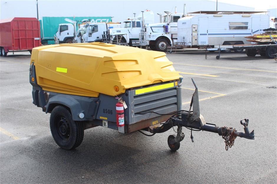 2008 Atlas Copco XAS67 130CFM Diesel Compressor