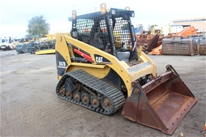 2005 Caterpillar 247B Skid Steer Loader