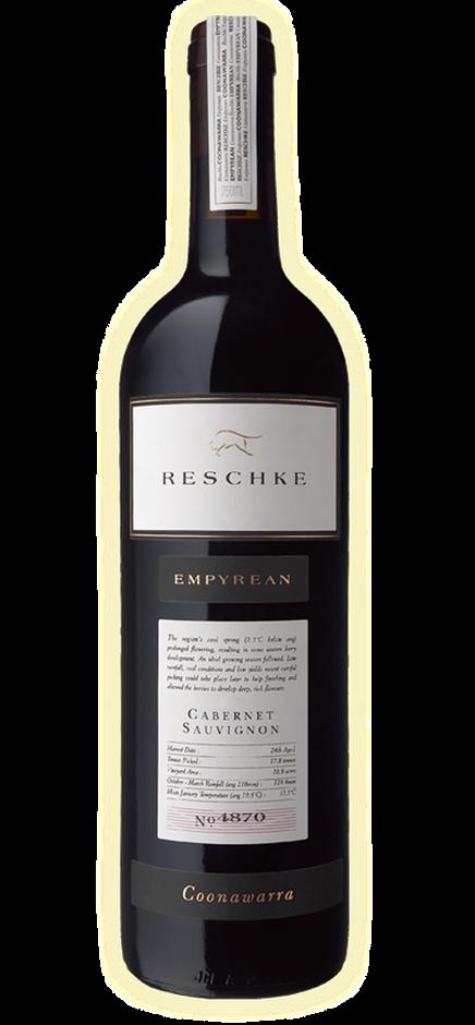 Reschke Wines `Empyrean` Caberent Sauvignon 2010 (6 x 750mL), Coonawarra.